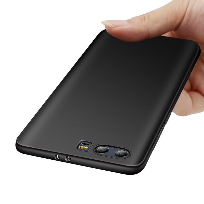 Silikonový kryt Huawei Honor 9 Luxusní matný kryt Huawei Honor9 Soft Soft Cover pro Huawei Honor 9 Ochranný kryt Pouzdro telefonu
