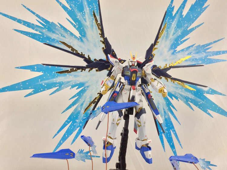 Бренд Dragon Momoko MG 1:144 Gundam Крылья Свободы модель часть GAT-X105 собрать аниме модели Фигурки Коллекция игрушек подарок