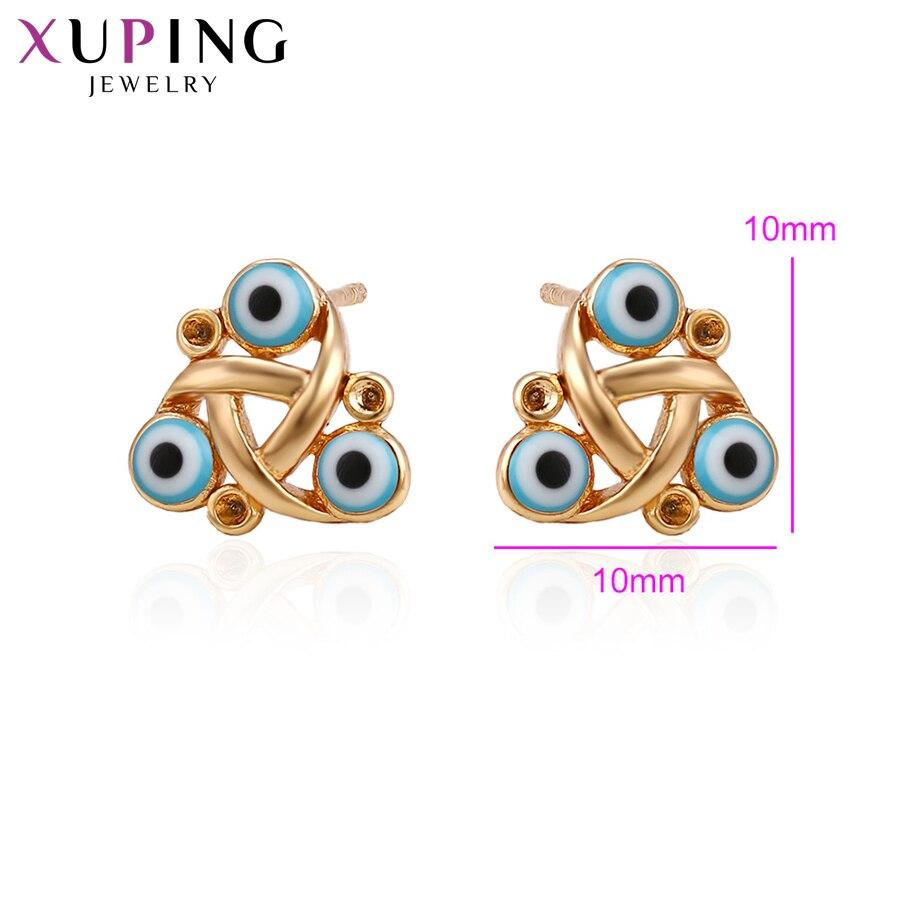 11,11 сделок Xuping Мода серьги шпильки новый Дизайн золото Цвет покрытием для Для женщин Рождество Специальные подарки S38-90236