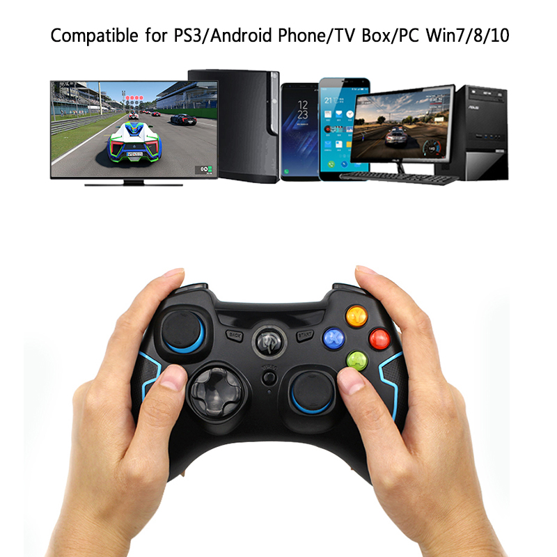 2.4G Wireless ESM-9013 Gamepad Game joystick Controller Fit for PC Windows For PS3 TV Box Android Smartphone