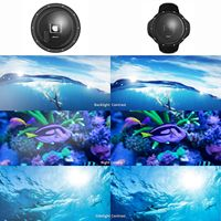 SHOOT Upgraded 5.0 Version Stabilizer Tray Dome Port for GoPro Hero 5/6/HERO Black Camera 6 inch Diving Handheld Lens Hood Dom