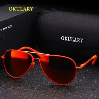 Fashion Polarized Kids Aviator Sunglasse...