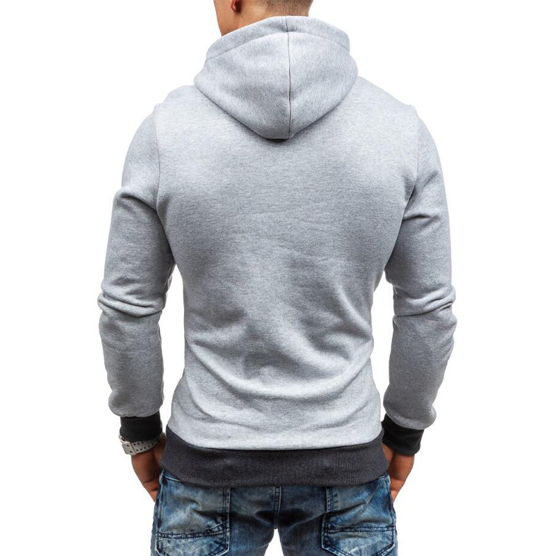 Fgkks Men Hoodie Sweatshirt Spring Brand Solid Color Fleece Tracksuit Sudaderas Hombre Hip Hop Male Hooded Sportswear Eu Size #4