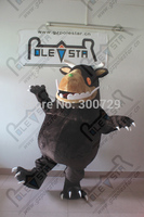 high quality brown fur gruffalo mascot costumes brown monster bear mascot costumes