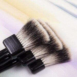 Image 3 - 2520BS Chất lượng cao badger tóc tay cầm bằng gỗ nghệ thuật sơn nghệ thuật tranh bút lông Acrylic bút cho acrylic tinh dầu vẽ