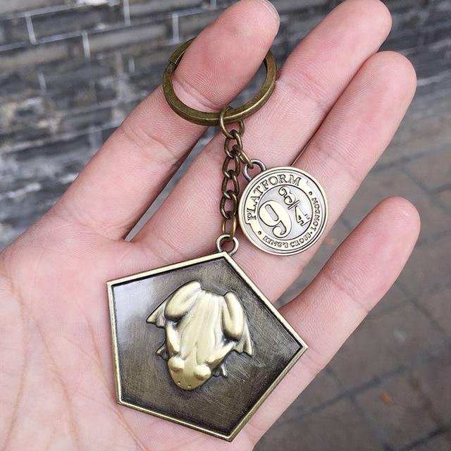 Брелок Гарри поттер шоколадная Лягушка и платформа 9-3/4