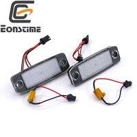 2Pcs Car LED License Plate Lights 12V SMD3528 LED Number Plate Lamp Canbus Bulb Kit For