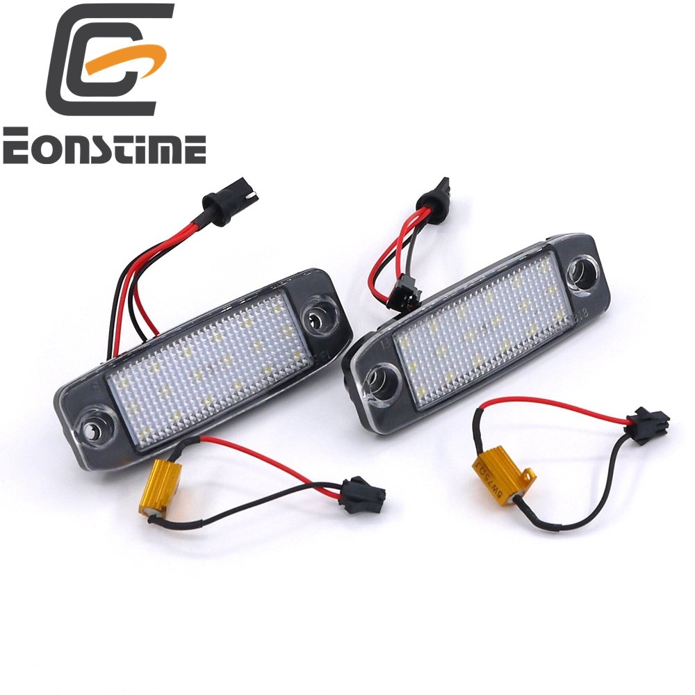 Eonstime 2Pcs Car LED License Plate Lights 12V SMD LED Number Plate Lamp Bulb Kit for Hyundai Sonata YF 10MY GF 10 Accessories 100% original new mid glass 8 for alcatel one touch pixi 3 8 0 9022x 8gb lte tablet touch screen panel digitizer glass sensor
