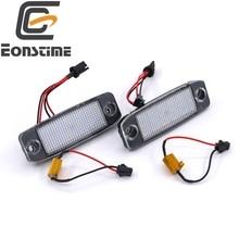 Eonstime 2 Unids Coche LED Luces de la Matrícula 12 V SMD LED Número Kit del Bulbo de La Lámpara para Hyundai Sonata YF 10MY GF 10 accesorios