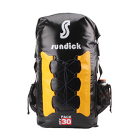 Outdoor Camping Climbing Hiking Waterproof Backpack Shoulder Bag Folding Pack River Tracing Rafting 30L SDK BB0612