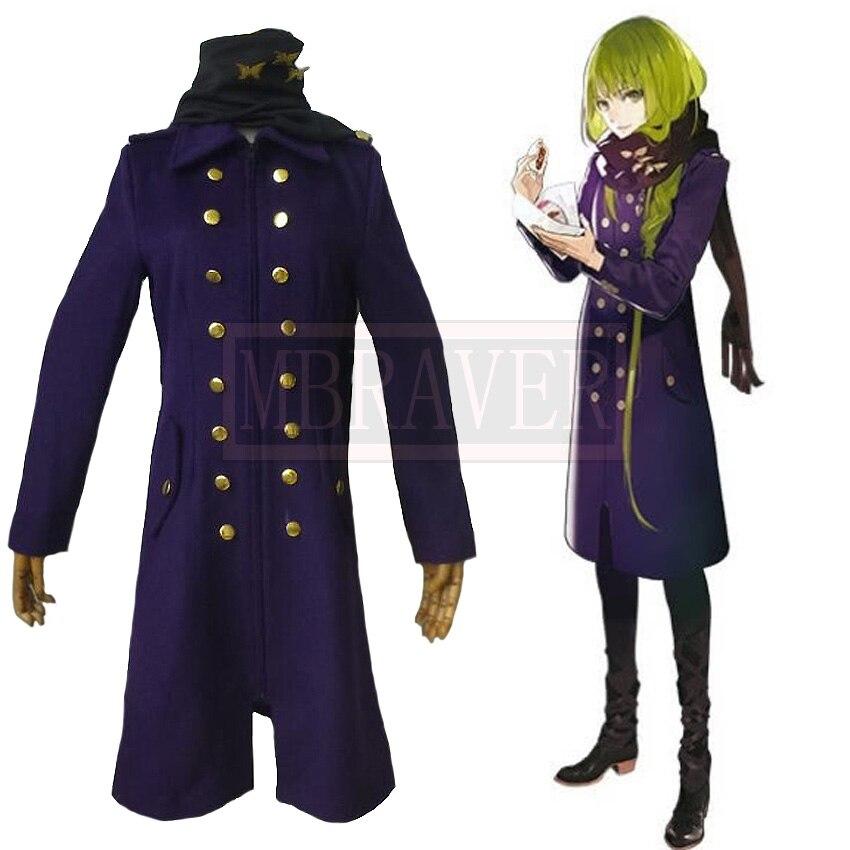 Fate/Grand Order FGO Ereshkigal Irkalla Winter Trench Coat Cosplay Costumes Halloween Uniform Suit Custom Made Free Shipping