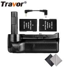Travor Батарейный держатель для Nikon D3100 D3200 D3300 DSLR камеры с 2 шт EN-EL14 батареей и 2 шт микрофибры Ткань для очистки