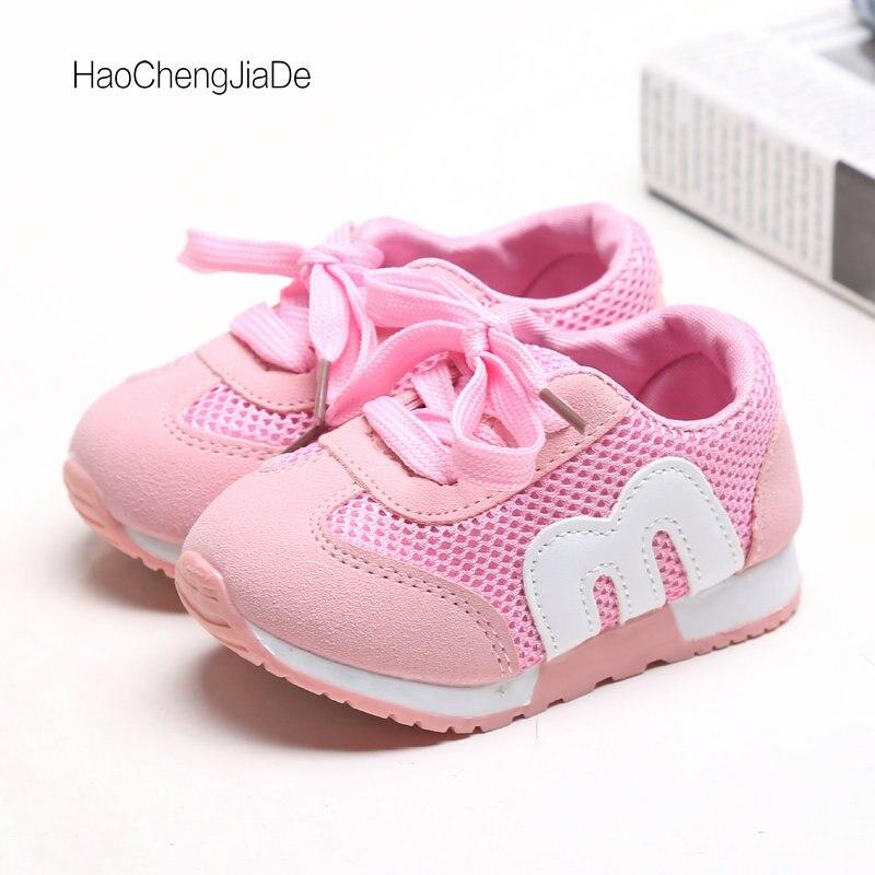 2018 Nowe buty dziecięce Wygodne oddychające siateczki Dziewczyny - Obuwie dziecięce - Zdjęcie 1