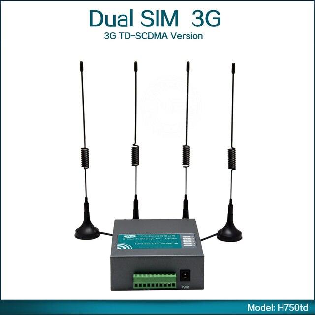 3G TD-SCDMA 2010~2025MHz/1880~1920MHz (B34/B39) Wifi Router 3G Sim Card ( Model: H750td )