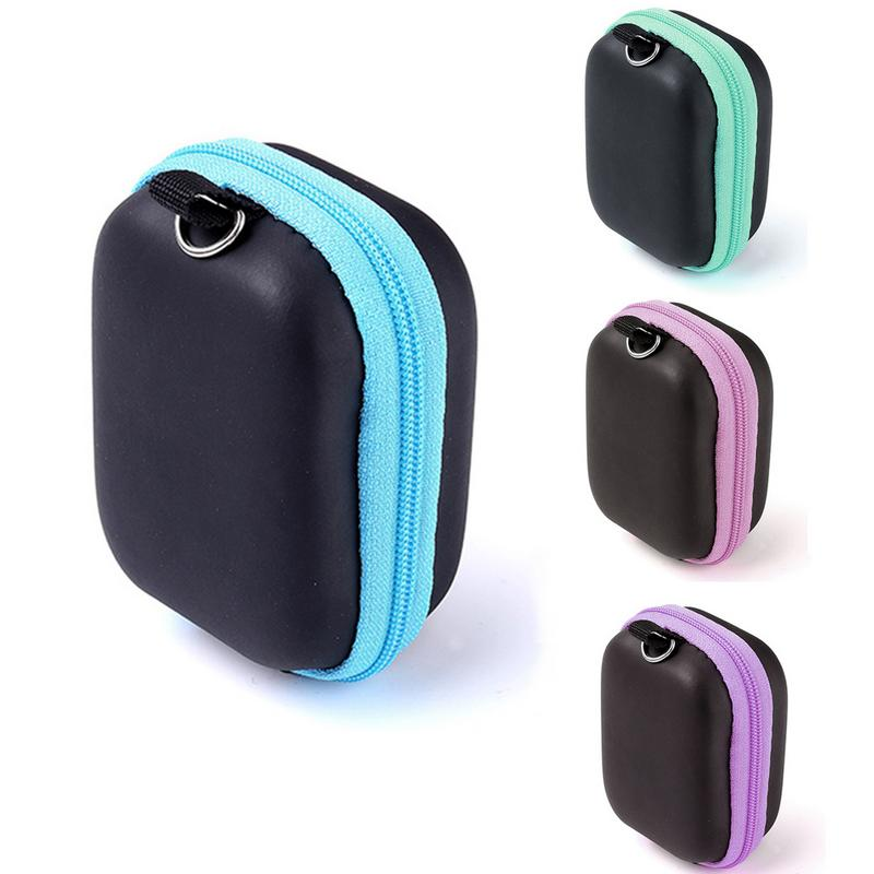 6 Compartment Essential Oil Storage Bag Travel Aromatherapy Storage Carrying Case Portable Mini 5ML Essential Oil Bottle Holder