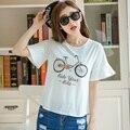 Women Summer Short Sleeve T-shirt Womens T Shirt Print Woman Tops White Harajuku Tee Shirt Femme Tshirt Mujer Vetement Feminina
