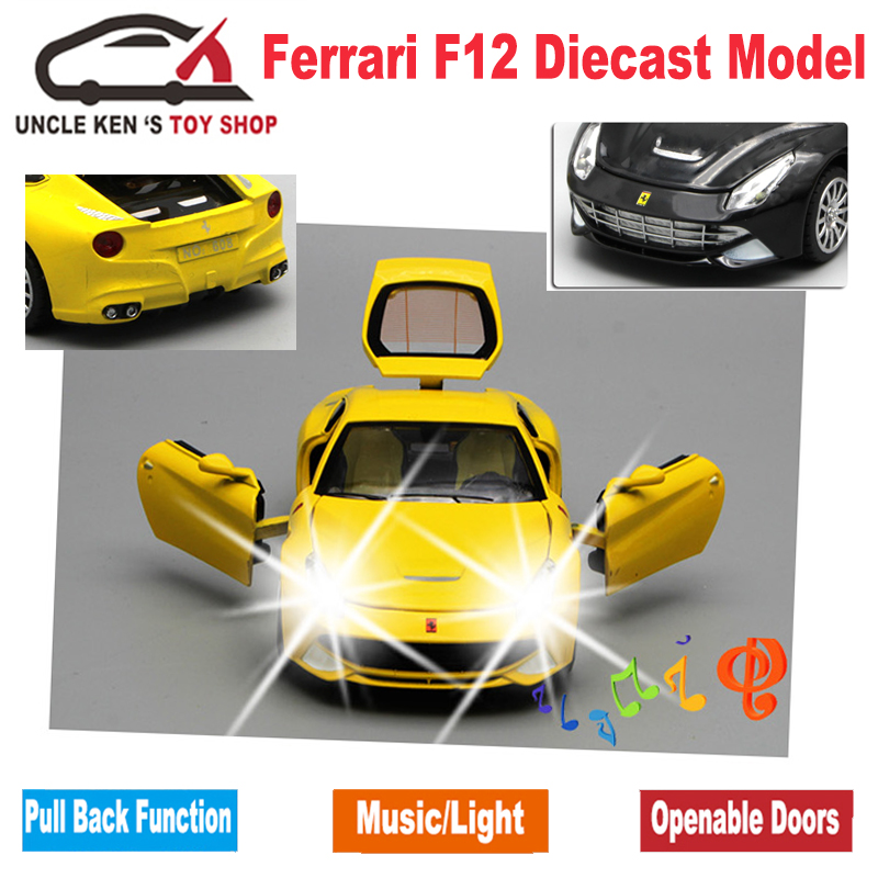 Image 4 - Diecast Scale Models Toys Sport Cars, Collection Vehicle For Boys With Different Colors-in Diecasts & Toy Vehicles from Toys & Hobbies