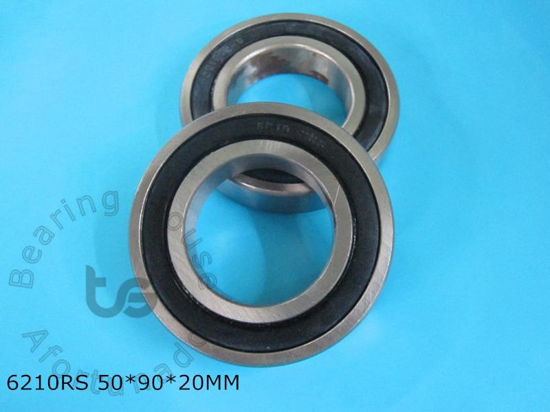 6210 6210RS 1Piece bearing 50*90*20(mm) ABEC-5 CHROME STEEL DEEP GROOVE BEARING 6210 6210RS батарею для nokia 6210