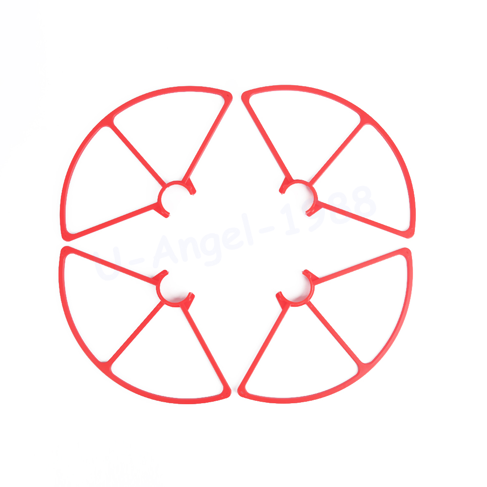 4pcs Plastic 4K Prop Blade Propeller Guard for YUNEEC Q500 Quadcopter white black Red