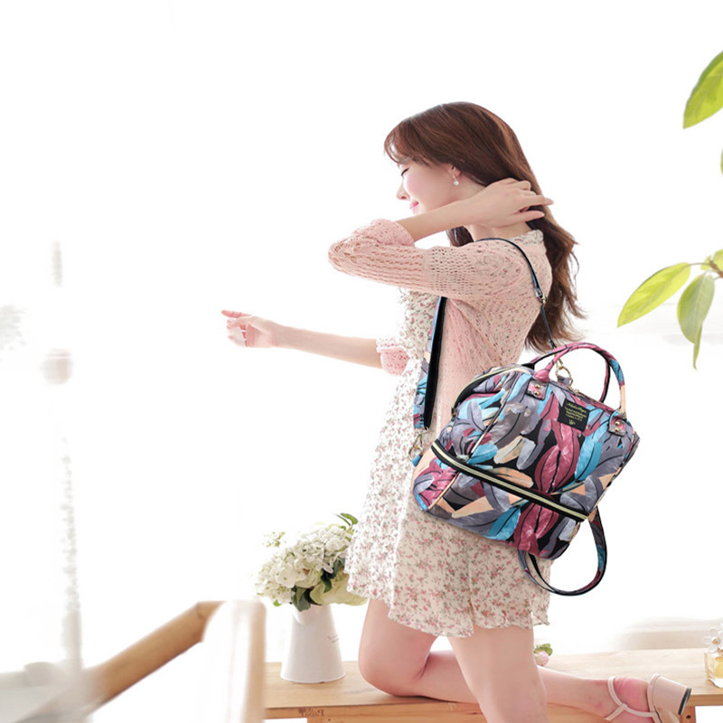 Fashion Diaper Backpack Mummy Maternity Nappy Bag Waterproof Newborn Care Backpacks Travel Bag Large Capacity for Baby Nappy Bag