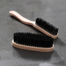 FOURETAW 1 Piece Imitation Wood Home Use Type Soft Fur Shoes Clean Brush Convenient Glass Floor BBQ Toilet Clothes Cleaner