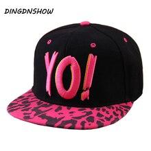 [DINGDNSHOW] брендовая Кепка в стиле хип-хоп, детская хлопковая бейсболка с вышитыми буквами, бейсбольная кепка Гравити Фолз для мальчиков и девочек