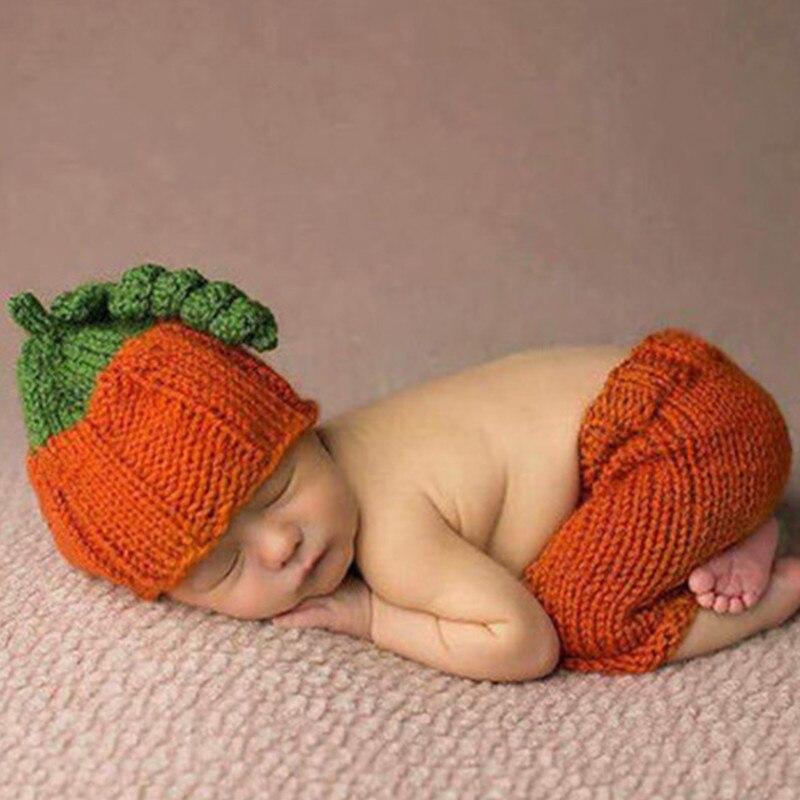Recién Nacido fotografía apoyos calabaza de Halloween sombrero ...