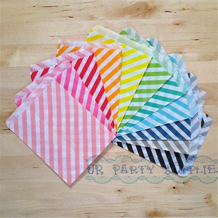 Bulk Sale 5000pcslot Striped Chevron Polka Dot Gift Bags Wedding