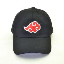 Japanese Akatsuki Logo Anime Naruto Dad Hat Uchiha Family Embroidery Baseball Caps 3 colors Snapback Hats casquette gorras