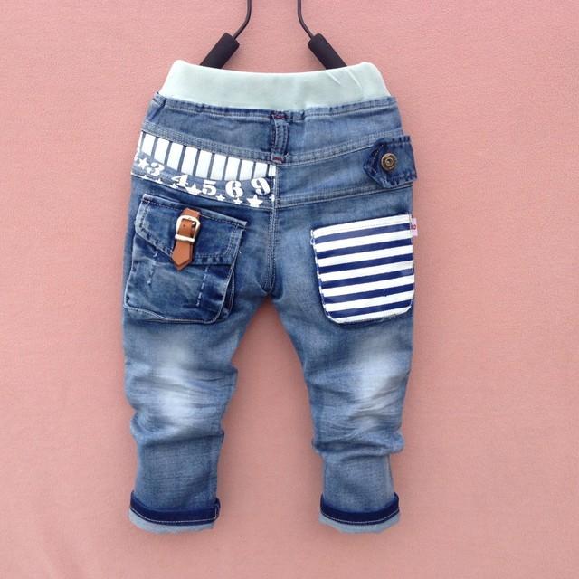 New18M-6Y Primavera verão calças de brim menino calças outono crianças calças de brim calças jeans criança crianças calças Frete grátis