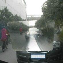 Автомобильная реверсивная наклейка прочная прозрачная наклейка с реверсивной линзой для парковки авто заднего стекла увеличенный угол обзора оптический широкоугольный объектив Френеля