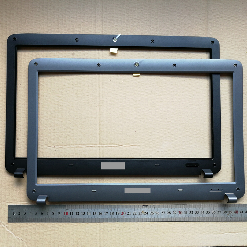 New laptop lcd painel frontal tampa quadro de tela para Samsung R528 R530 R540 R523 R525 R580 RV510 RV508 BA75-02563A/ BA75-02376B