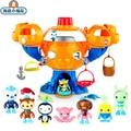 Octonauts замок осьминога игрушка ракушки Kwazii песо шеллингтон Даши Professor Inkling настроить Vegimals Фигурки игрушки подарок