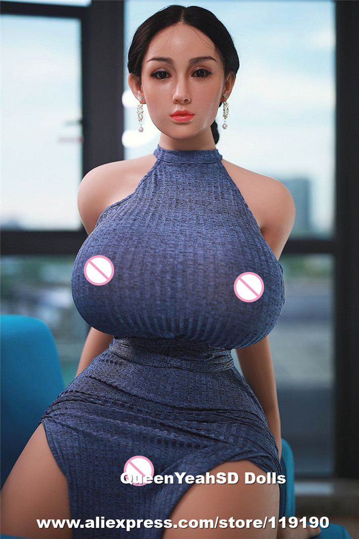 <font><b>159cm</b></font> L Cup Real Silicone <font><b>Sex</b></font> <font><b>Doll</b></font> Big Boobs Love <font><b>Dolls</b></font> For Man Silicone Head Implanted Hairs Sexuales De Silicona Adultos image