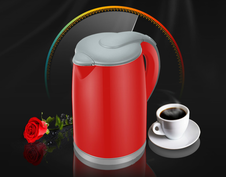 Electric heating kettle household 304 stainless steel automatic power blackouts mini Safety Auto-Off Function new high quality electric kettle 304 stainless steel kettles home cooking automatic blackouts safety auto off function