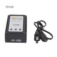 Niosung IMaxRC IMax B3 Pro Compact 2S 3S Lipo Balance Battery Charger US Plug For RC