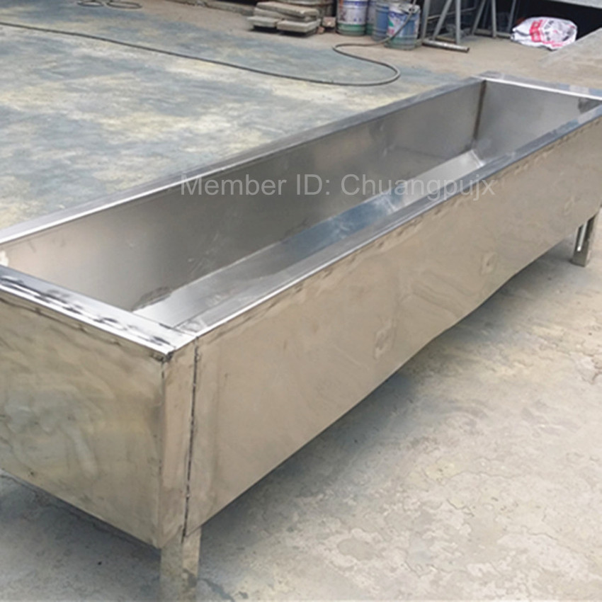 Animal Stainless Steel Automatic Drinking Tank / Drinking Trough for Feeding