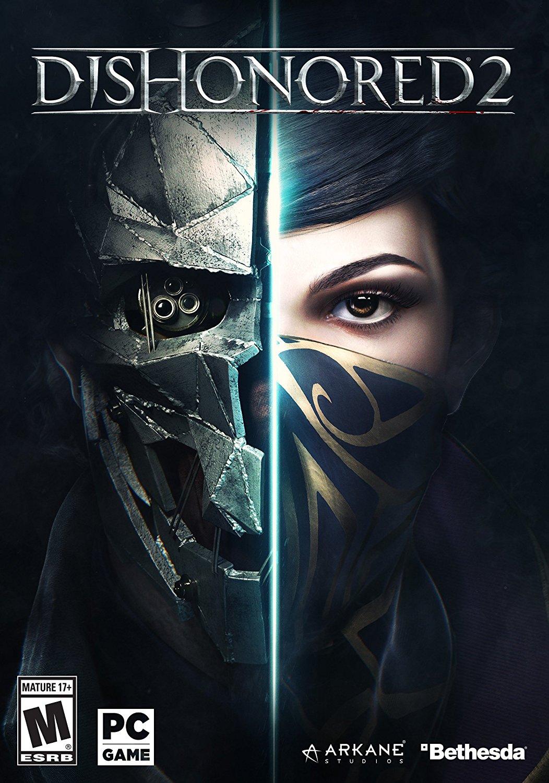 Dishonored 2 II Reversible Cloth Mask Rare Promo New Corvo Emily Cosplay Costume Mask