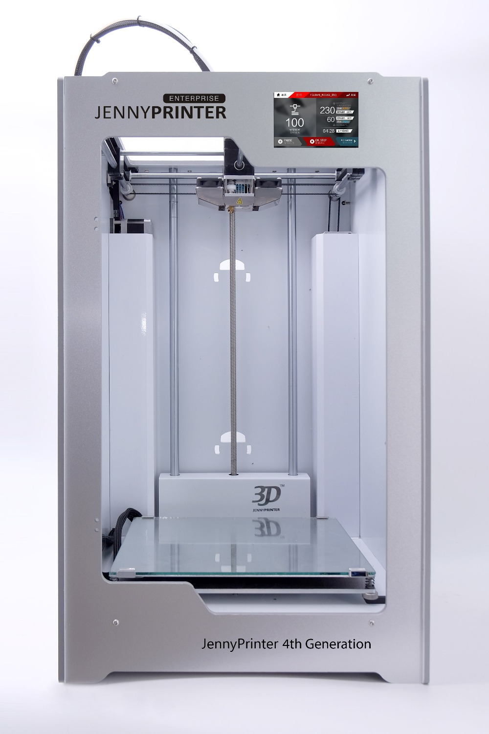 2018! Assembled JennyPrinter Z360TS Touch Screen Extended For UM2 Ultimaker 2 Extended High Precision Auto Leveling 3D Printer