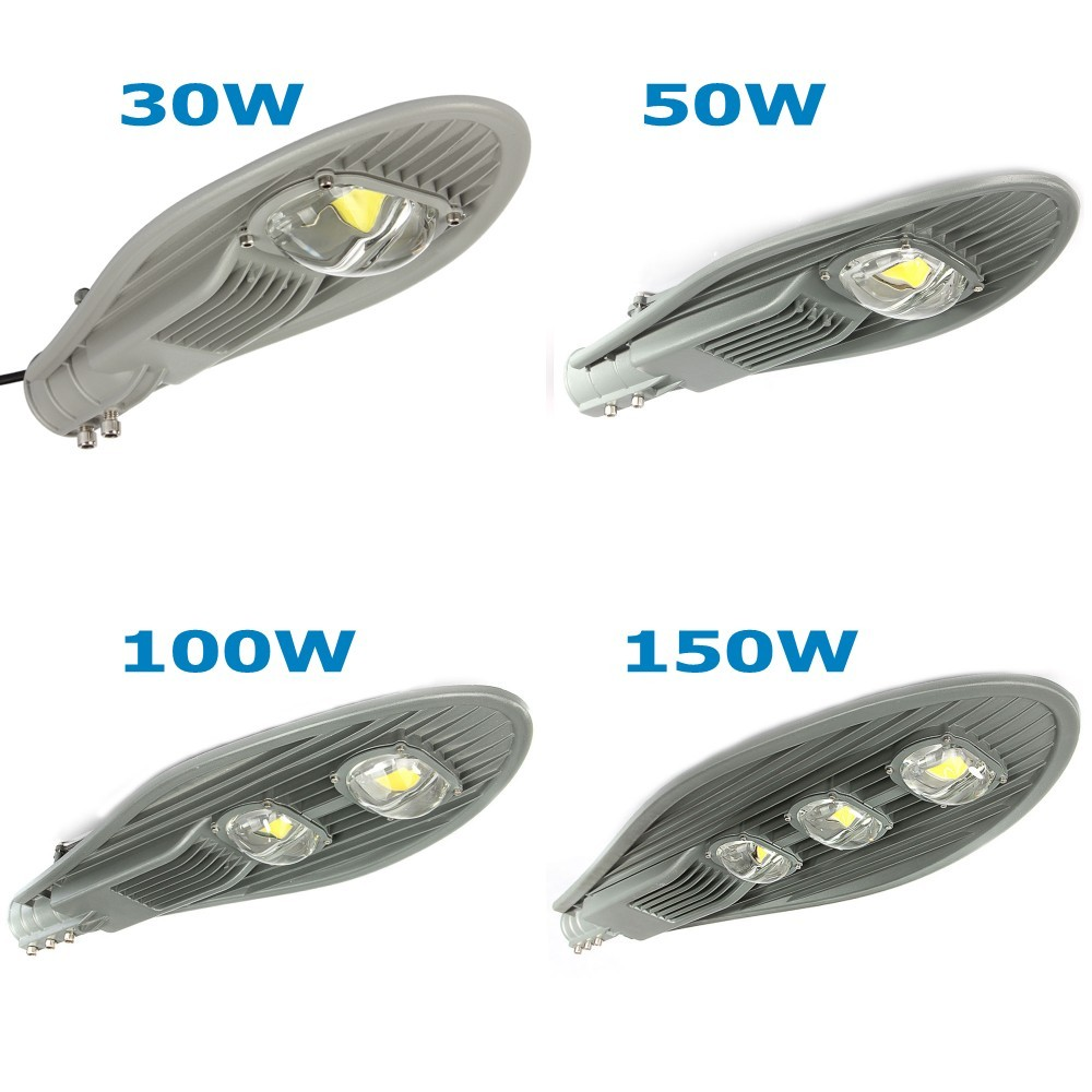 1pcs Outdoor Lighting 50W 100W 150W Led Street Light Warm/Cold White AC85-265V Waterproof IP65 LED Lamp Garden Lamp