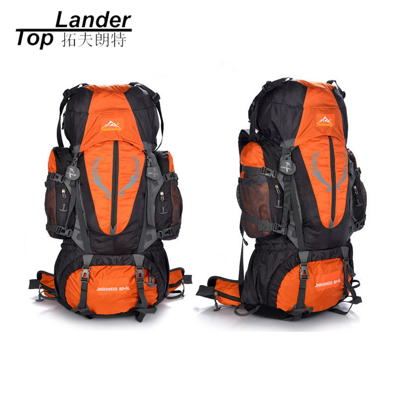 Outdoor Climbing Bags Unisex Oxford Sports Waterproof Hiking Travel Camping Mountaineering Climbing Bag 80L Backpacks camping hiking bag outdoor climbing backpacks waterproof nylon travel sport mountaineering bags zipper hiking backpack 80l