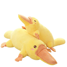 цены Platypus Doll Plush Toy Pillow Pillow Big Yellow Duck Toy Cushion Cute Soft Plush Animal Doll Girl Birthday Gift Home Decoration