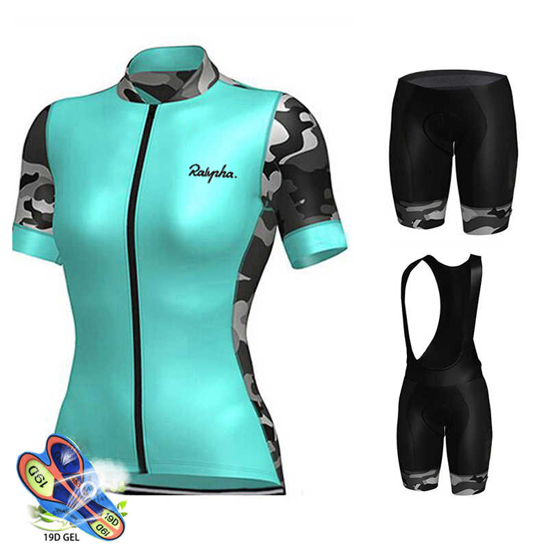 2019 equipo Skinsuit PRO Ciclismo Jersey 19D Gel bicicleta pantalones cortos traje MTB Ropa Ciclismo mujer verano Maillot Culotte Ropa