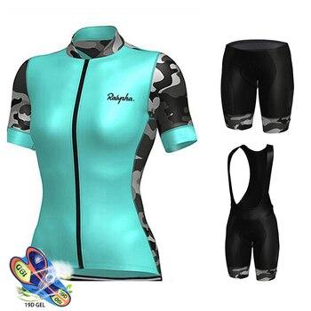 2019 equipo Skinsuit camiseta de Ciclismo profesional 19D Gel bicicleta pantalones cortos...
