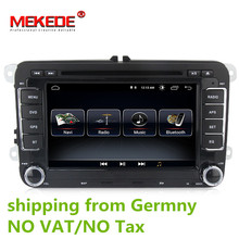 Android 8.0 Car DVD GPS Navigation 1024*600 Quad Core for VW Volkswagen Skoda POLO GOLF 5 6 PASSAT JETTA TIGUAN TOURAN Caddy