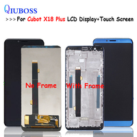 For Cubot X18 Plus LCD Display and Touch Screen With Frame +Tools And Adhesive 5.99 For Cubot X18 Plus Phone Accessories+Tools
