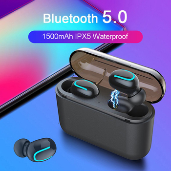 Wireless Earphones For mobilephone In-Ear Blutooth 5.0 Ear pods Handsfree Headset Sports Earbuds with Power Banks PK i10 i30 TWS