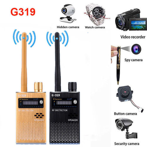 NEW G319 Anti-Spy GPS Signal Lens GSM WIFI G3 G4 SMS RF Tracker  SPY Bug Detector Anti Candid Camera