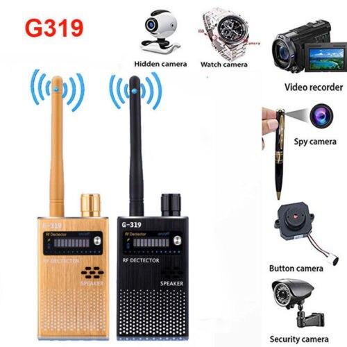 Nouveau G319 Anti-espion GPS Signal lentille GPS GSM WIFI G3 G4 SMS RF Tracker GSM espion Bug détecteur Anti-candide caméra détecteur