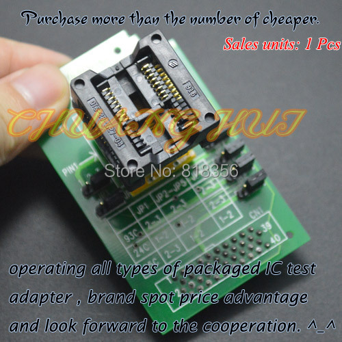 300mil SOP16/SOIC16 socket HEAD-SEEP-SOP16 Programmer adapter for GANG-08 Programmer 056816 sop16